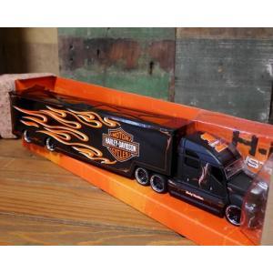 ハーレーダビッドソン トレーラー トラック インテリア 1/64 Maisto Harley-Davidson|goodsfarm|12