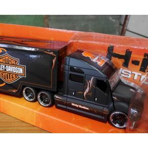 ハーレーダビッドソン トレーラー トラック インテリア 1/64 Maisto Harley-Davidson|goodsfarm|13