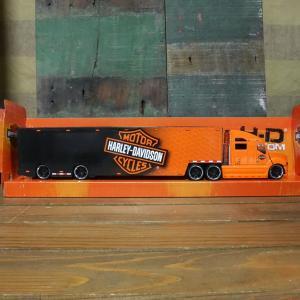 ハーレーダビッドソン トレーラー トラック インテリア 1/64 Maisto Harley-Davidson|goodsfarm|15