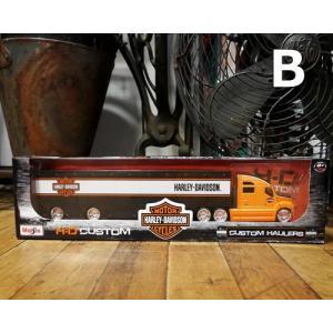 ハーレーダビッドソン トレーラー トラック インテリア 1/64 Maisto Harley-Davidson|goodsfarm|06