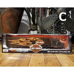 ハーレーダビッドソン トレーラー トラック インテリア 1/64 Maisto Harley-Davidson|goodsfarm|10
