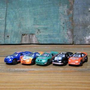NASCAR ミニチュアカー 5Pセット ナスカー インテリア ミニカー goodsfarm