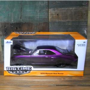 レトロミニカー 1970 PLYMOUTH ROAD RUNNER 1/24サイズ プリムス ロードランナー|goodsfarm|02