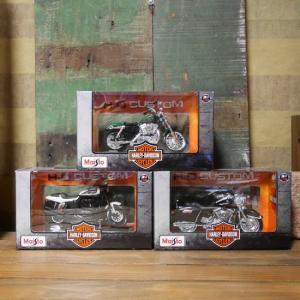 ハーレーダビッドソン バイク インテリア 1/18 Maisto オートバイ Harley-Davidson|goodsfarm