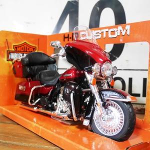 ハーレーダビッドソン FLHTK エレクトラ GLIDE ULTRA LIMITED バイク インテリア 1/12 Maisto オートバイ Harley-Davidson|goodsfarm