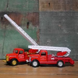 クラシック 消防車 レトロミニカー はしご車 goodsfarm