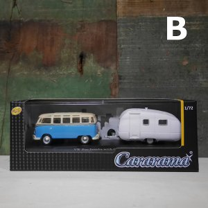 cararama ミニカー 1/72 カララマ フォルクスワーゲンバス キャラバン インテリア|goodsfarm|06
