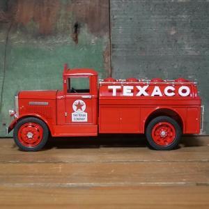 テキサコ オイル ダイキャストミニカー 1943 TEXACO 1/34サイズ T-23 GMC タンカー レッド 貯金箱|goodsfarm|04