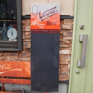 アンティークタイプ BEER チョークボード wayne 黒板 goodsfarm