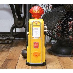 アンティークタイプ ガスポンプ 貯金箱 オールドアメリカン雑貨|goodsfarm