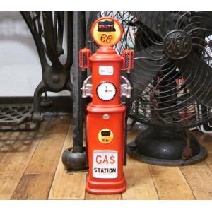 アンティークタイプ ガスポンプ バンク 貯金箱|goodsfarm