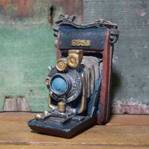 アンティーク カメラ インテリア オブジェ スプリングカメラ|goodsfarm