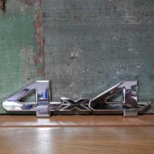 4WD スチール ステッカー 4×4 STICKER アメリカン雑貨|goodsfarm