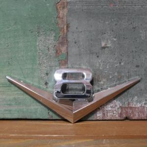 V8 スチール ステッカー ブイハチ STICKER アメリカン雑貨|goodsfarm
