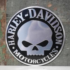 ハーレーダビッドソン ステッカー Harley-Davidson スカル シール アメリカン雑貨|goodsfarm