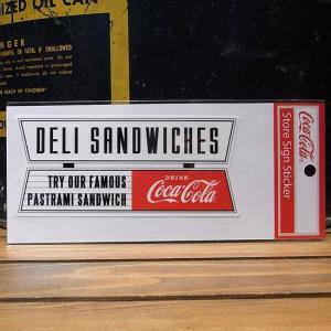 コカコーラ DELI SANDWICHES ステッカー アメリカン雑貨|goodsfarm