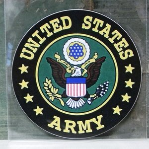 ARMY ミリタリー ステッカー アーミー アメリカン ウォールステッカー アメリカン雑貨|goodsfarm