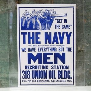 THE NAVY MEN ミリタリー ステッカー 水兵 アメリカン ウォールステッカー アメリカン雑貨|goodsfarm