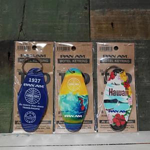 パンナム モーテル キーリング ハワイ PANAM MOTEL KEY RING HAWAI キーホルダー|goodsfarm