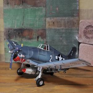 ブリキのおもちゃ 飛行機 戦闘機 ヘルキャットモデル fighter goodsfarm