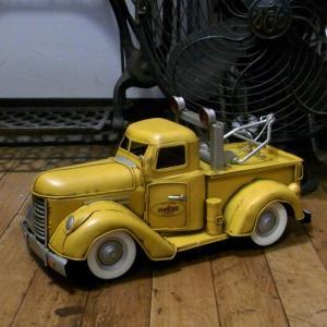 ペンズオイル レッカー車 ブリキのおもちゃ ペンゾイル ブリキの自動車|goodsfarm