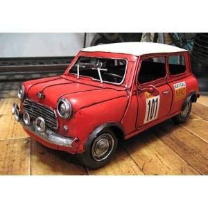 ブリキのおもちゃ ブリキの自動車 ミニクーパー|goodsfarm