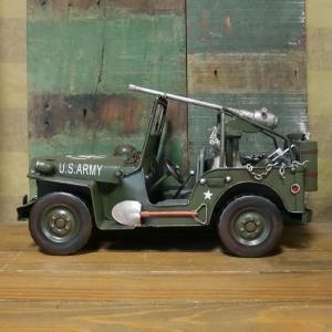 アーミージープ ミリタリー ブリキのおもちゃ 自動車 レトロ インテリア goodsfarm 03
