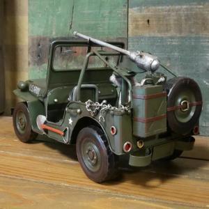 アーミージープ ミリタリー ブリキのおもちゃ 自動車 レトロ インテリア goodsfarm 04