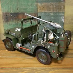 アーミージープ ミリタリー ブリキのおもちゃ 自動車 レトロ インテリア goodsfarm 05