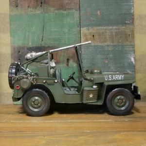 アーミージープ ミリタリー ブリキのおもちゃ 自動車 レトロ インテリア goodsfarm 06