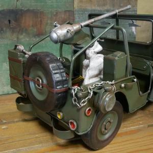 アーミージープ ミリタリー ブリキのおもちゃ 自動車 レトロ インテリア goodsfarm 07