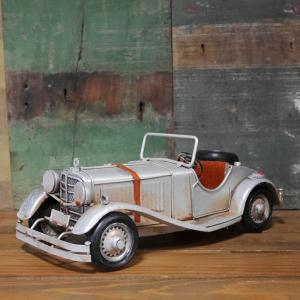 ブリキのおもちゃ クラシック モーガン 自動車 インテリア|goodsfarm