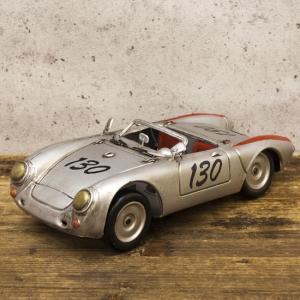 レーシングカー シルバー130 インテリア ブリキのおもちゃ|goodsfarm