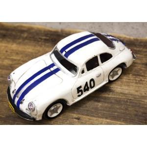 レーシングカー ホワイト540 インテリア ブリキのおもちゃ 自動車|goodsfarm|02