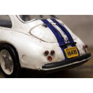 レーシングカー ホワイト540 インテリア ブリキのおもちゃ 自動車|goodsfarm|04
