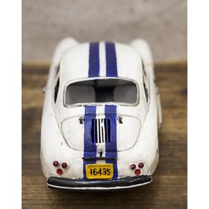 レーシングカー ホワイト540 インテリア ブリキのおもちゃ 自動車|goodsfarm|06
