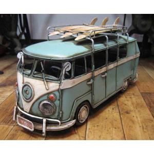 ブリキのおもちゃ ワーゲンバス フォルクスワーゲン 自動車 バス goodsfarm