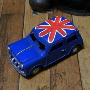 ミニクーパー ブリキのおもちゃ ノスタルジックデコ キーストーン|goodsfarm|04