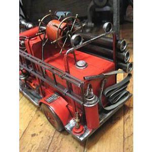 ブリキのおもちゃ 消防車 自動車 goodsfarm 03
