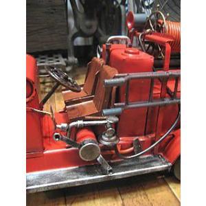 ブリキのおもちゃ 消防車 自動車 goodsfarm 04