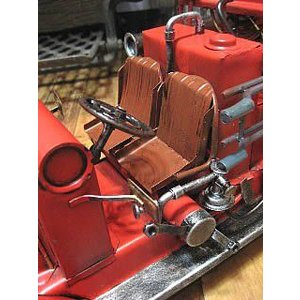 ブリキのおもちゃ 消防車 自動車 goodsfarm 05