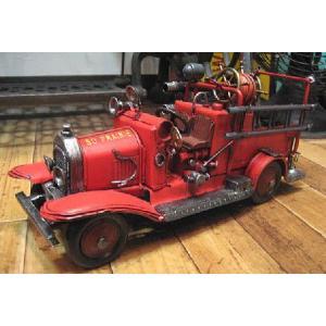 ブリキのおもちゃ 消防車 自動車 goodsfarm