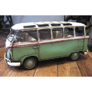 ブリキのおもちゃ ワーゲンバス フォルクスワーゲン 自動車 バス|goodsfarm