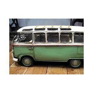 ブリキのおもちゃ ワーゲンバス フォルクスワーゲン 自動車 バス|goodsfarm|04