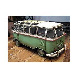 ブリキのおもちゃ ワーゲンバス フォルクスワーゲン 自動車 バス|goodsfarm|05