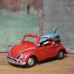 ブリキのおもちゃ フォルクスワーゲン ビートル アンティーク インテリア|goodsfarm