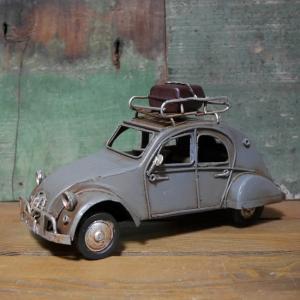 ブリキのおもちゃ オールド シトロエン 2cv 自動車 インテリア|goodsfarm