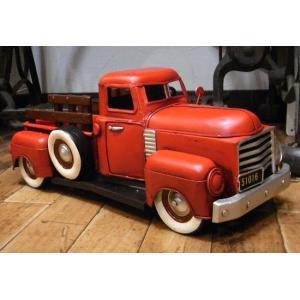 ブリキのおもちゃ ピックアップトラック 自動車 トラック goodsfarm