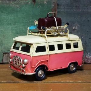 ワーゲンバス  自動車 インテリア フォルクスワーゲン タイプ ブリキのおもちゃ