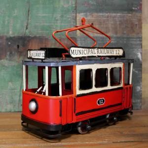 ケーブルカー ブリキのおもちゃ 鉄道 アンティーク インテリア goodsfarm